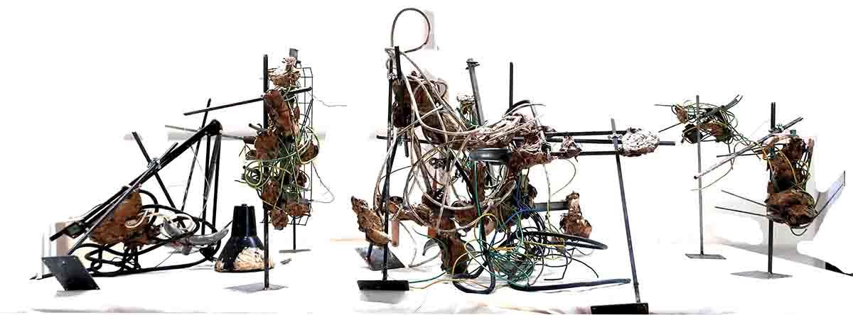 Informelle Skulptur 1990