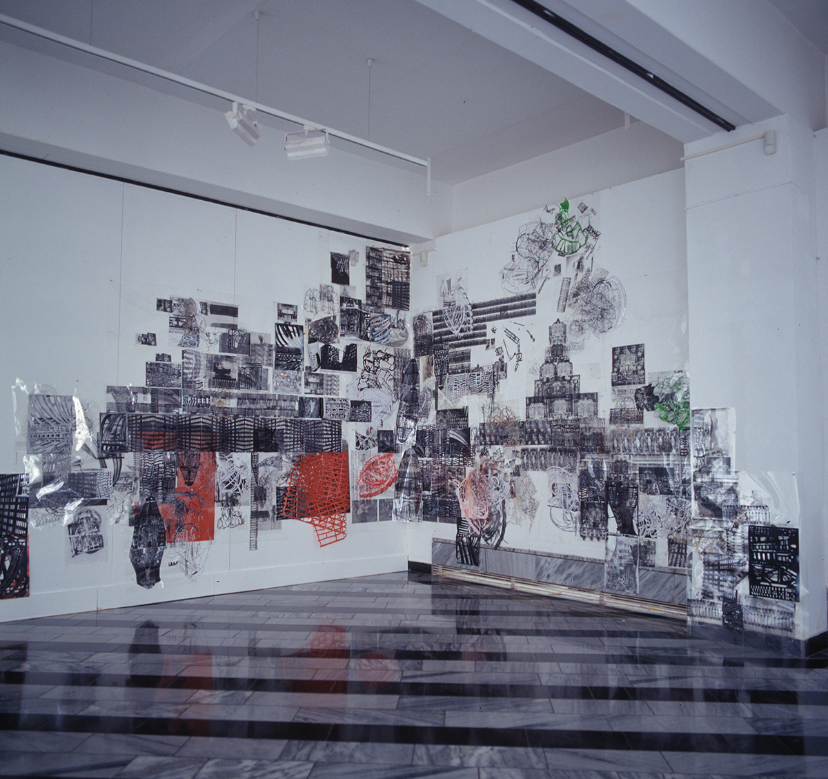 """Corner-, Ceiling-, Room- Drawing"", 2009-10"
