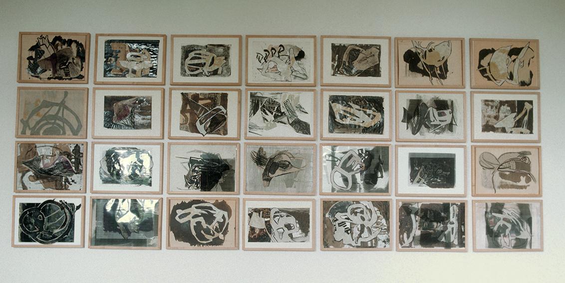 """""""Bitumen Drawings"""", 1994"""