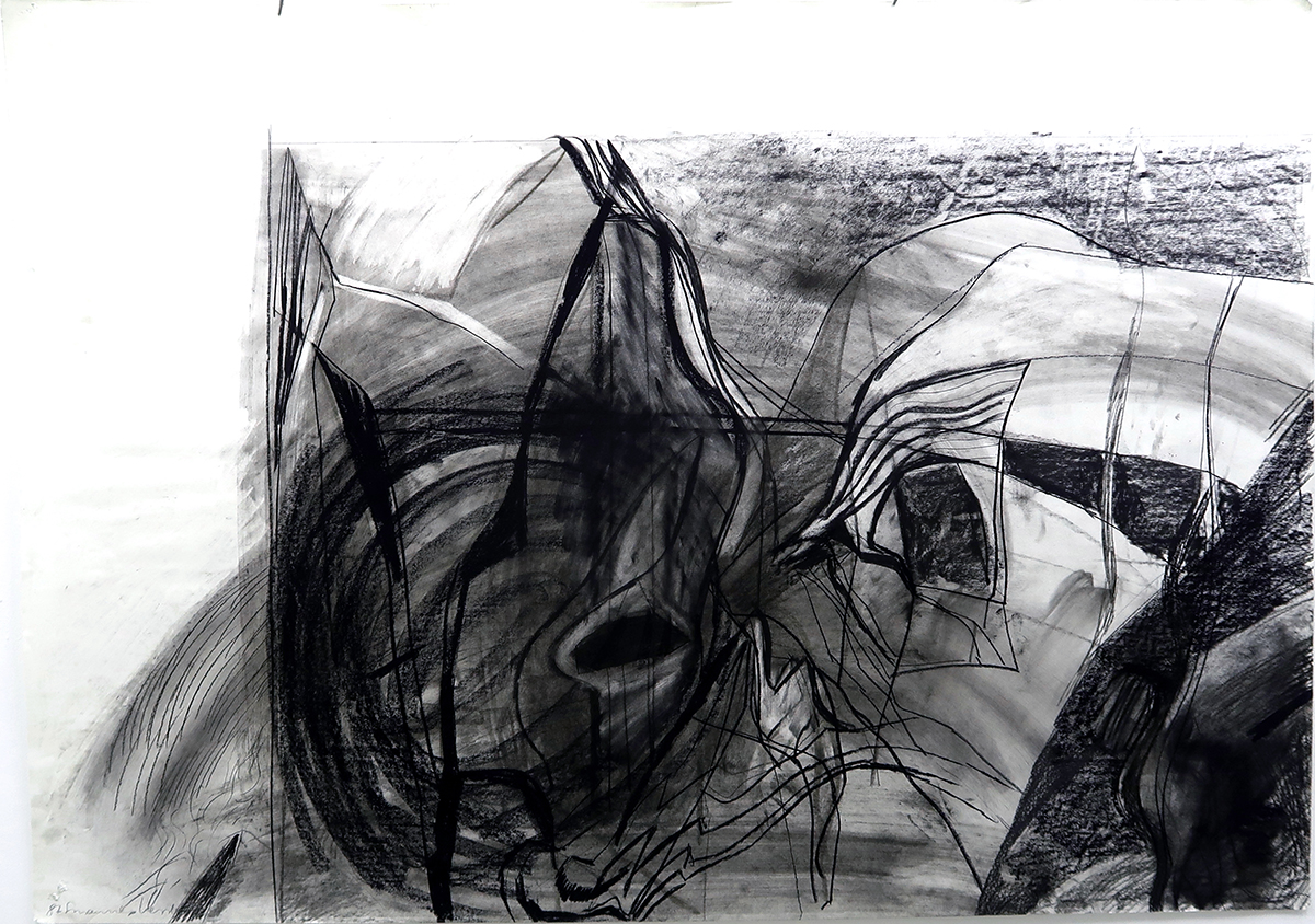 Charcoal drawings 1987