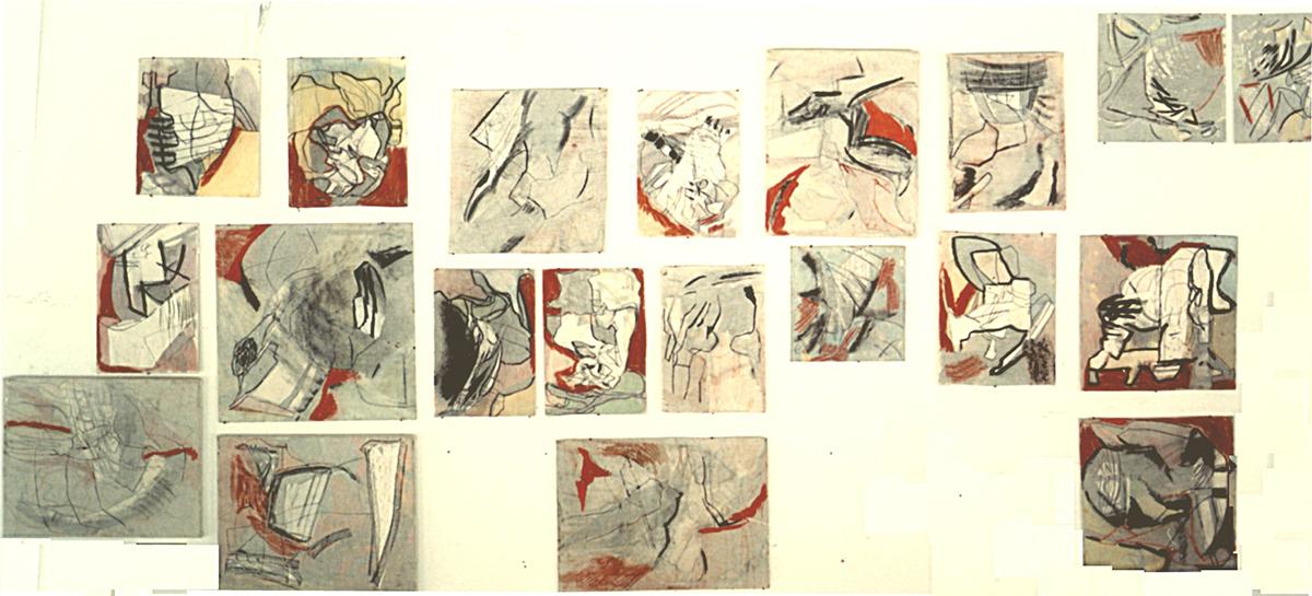 """Ensemble Bildspuren"", 1992"