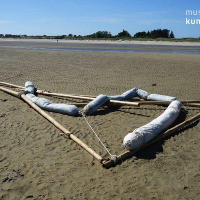 Dokumentation Teilstück einer geplanten Meereinstallation
